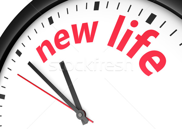 New Life Time Concept Stock photo © NiroDesign