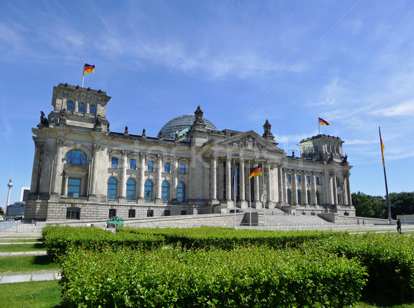Reichstag Building Berlin Stock photo © NiroDesign