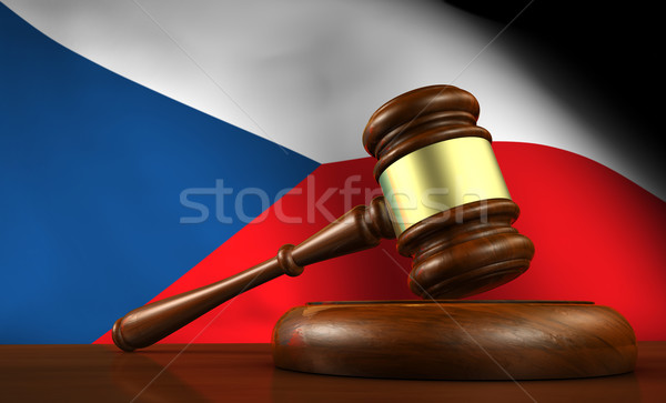 Czech Republic Law Legal System Concept Stock photo © NiroDesign