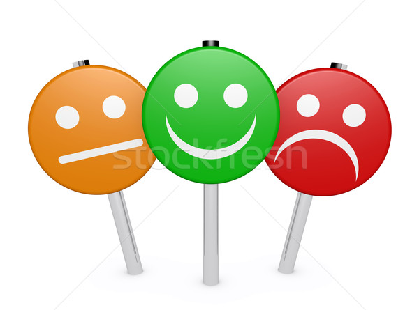 Customer Feedback Business Quality Rating Stock photo © NiroDesign