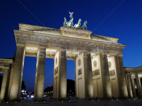 Brandenburger Tor At Dusk Berlin Stock photo © NiroDesign