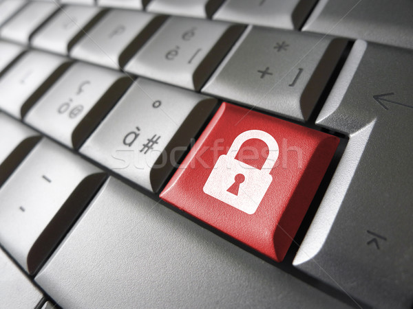 Web seguridad clave Internet ordenador Foto stock © NiroDesign