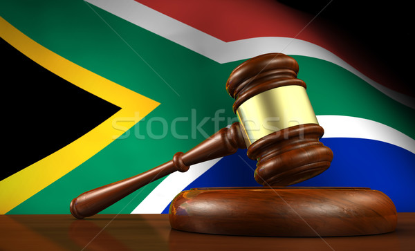 South Africa Law And Justice Stock photo © NiroDesign