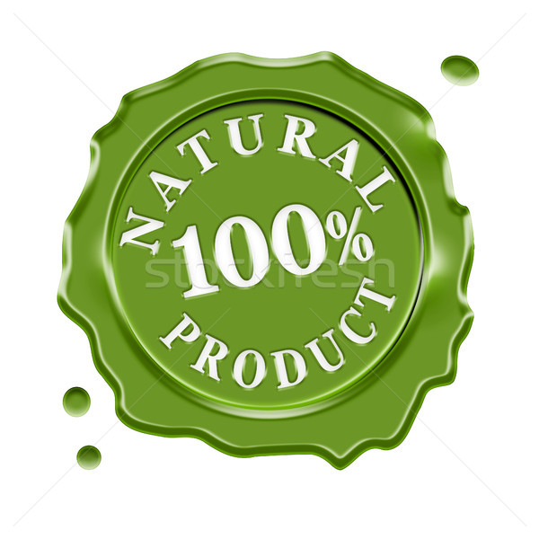 Natural Product Wax Seal Stock photo © NiroDesign