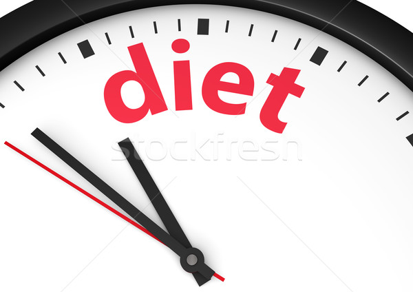 Time For Diet Concept Stock photo © NiroDesign