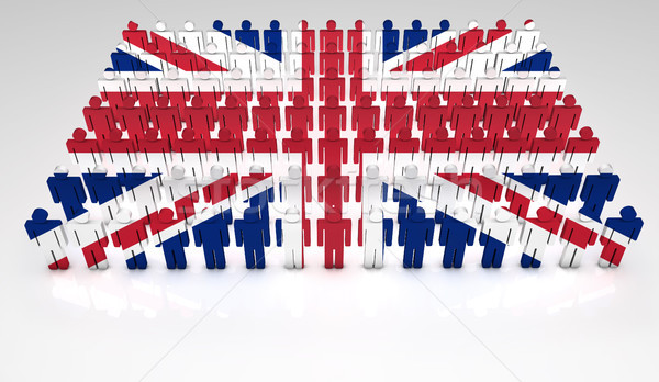 British Flag Parade Stock photo © NiroDesign