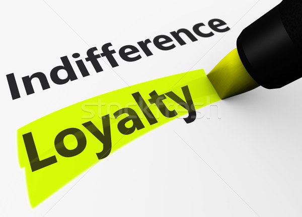 Business Loyalty Marketing Concept Stock photo © NiroDesign