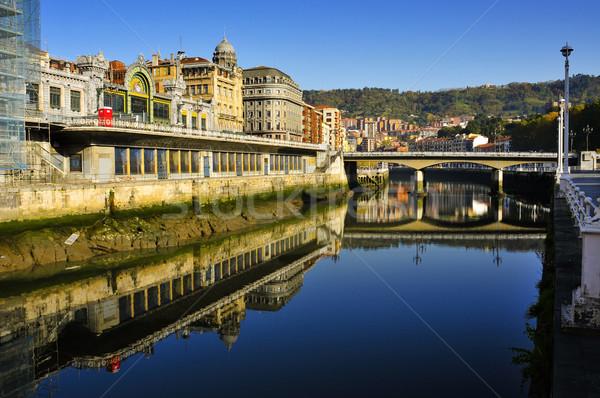 Estuary of Bilbao, Spain Stock photo © nito