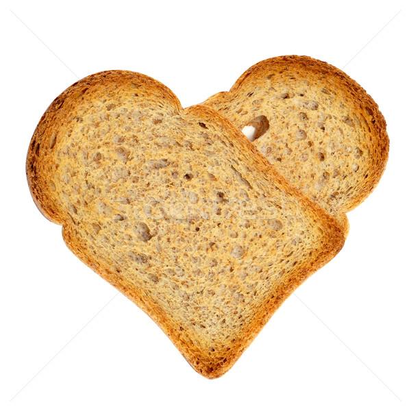 heart-shaped bread rusks Stock photo © nito