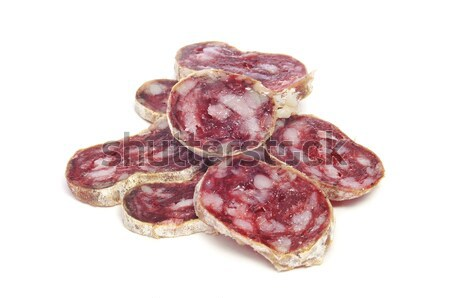 fuet, spanish salami Stock photo © nito