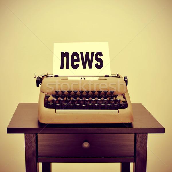 news Stock photo © nito