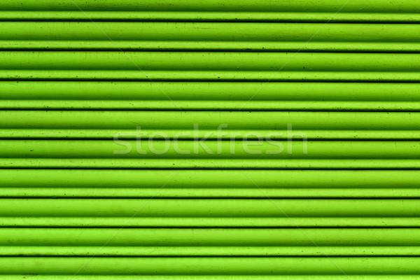 garage roller door background Stock photo © nito