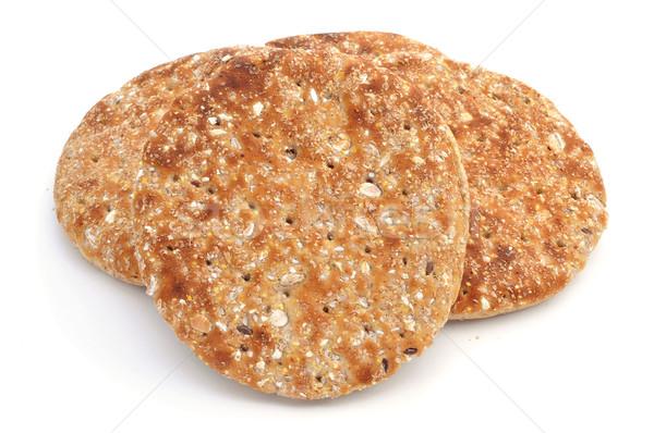 Bütün tahıl pide ekmek farklı Stok fotoğraf © nito