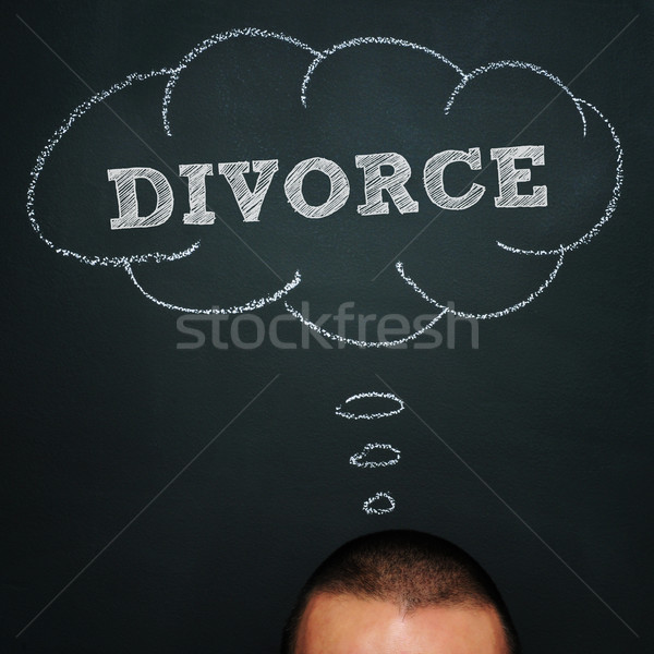divorce Stock photo © nito