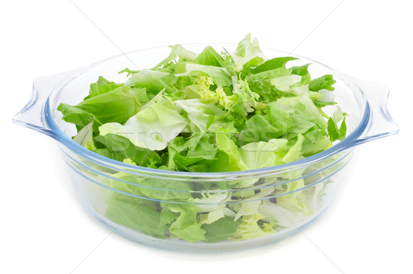 mesclun, a mix of assorted salad leaves Stock photo © nito