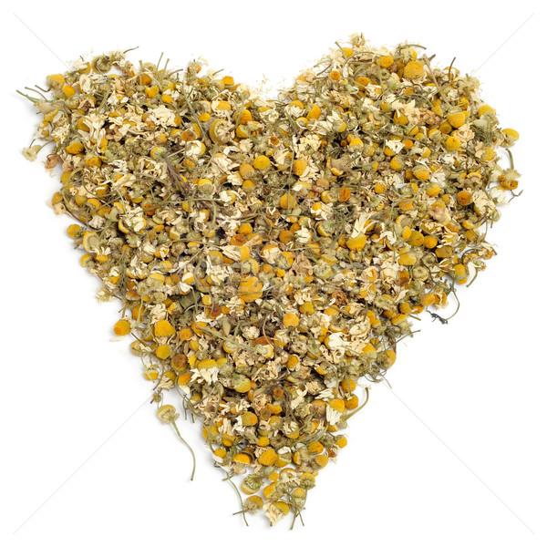 chamomile heart Stock photo © nito