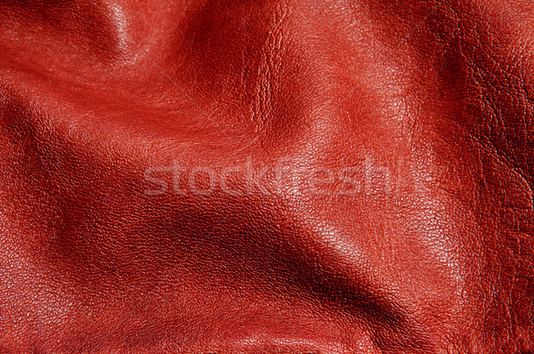 brown leather background Stock photo © nito