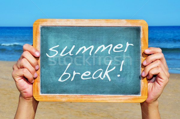 summer break Stock photo © nito