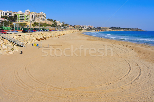 Miracle Beach in Tarragona, Spain Stock photo © nito