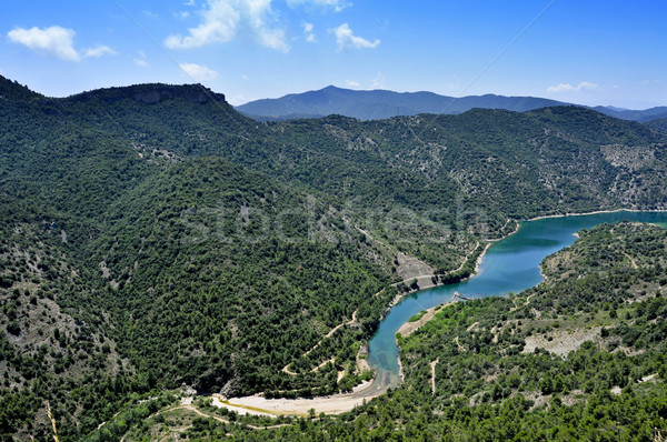 Siurana River in Tarragona Province, Spain Stock photo © nito