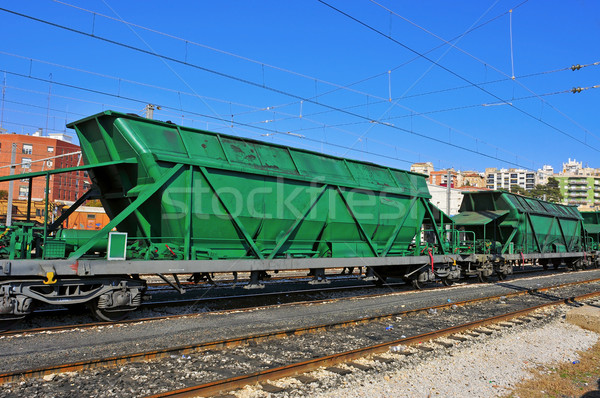 freight cars Stock photo © nito