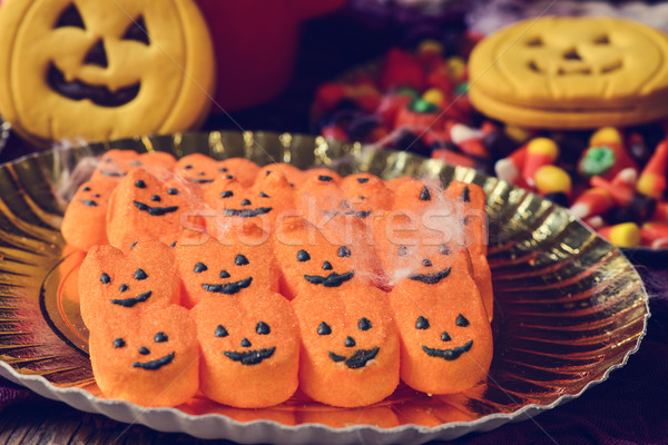 halloween candies and cookies Stock photo © nito