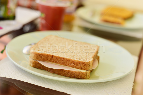 ham and cheese sandwich Stock photo © nito