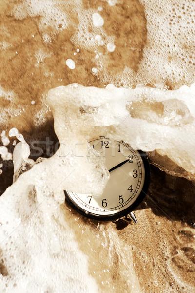 alarm clock on the beach Stock photo © nito