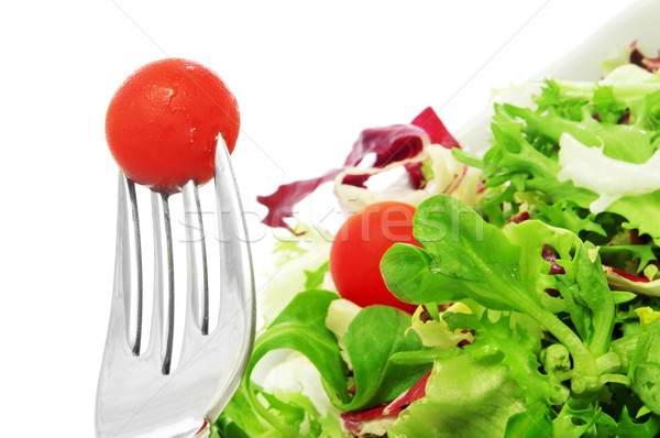 salad with cherry tomatoes Stock photo © nito