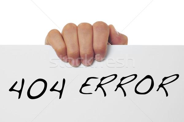 404 error Stock photo © nito