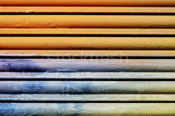 garage roller door Stock photo © nito