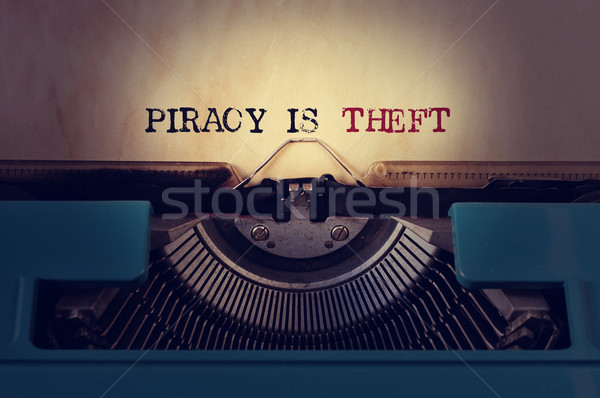 piracy is theft Stock photo © nito