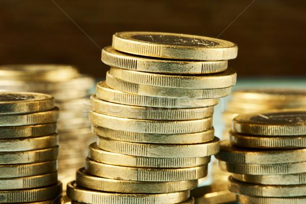 euro coins Stock photo © nito