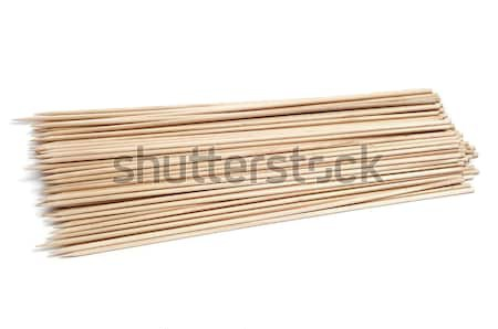 wooden skewers Stock photo © nito