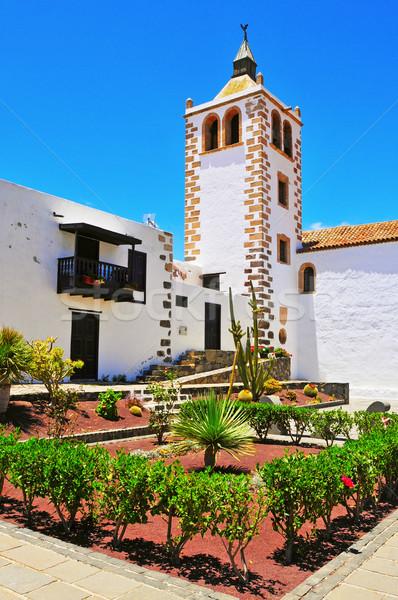 Santa Maria de Betancuria Church in Fuerteventura, Canary Island Stock photo © nito