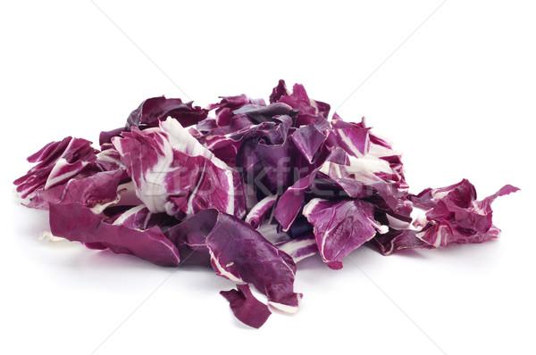 chopped radicchio leaves Stock photo © nito