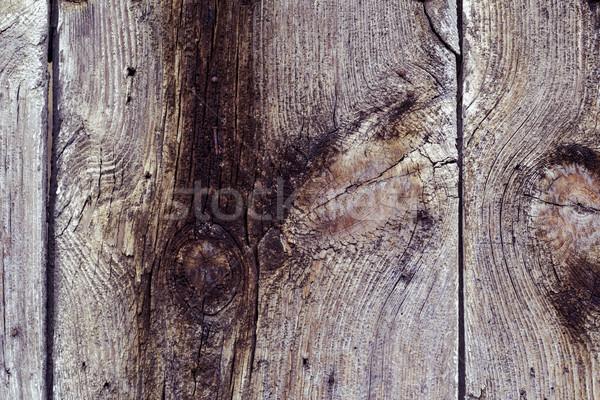 古い 木製 クローズアップ 素朴な ツリー 建物 ストックフォト © nito