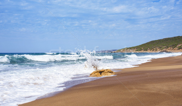 Spiaggia di Piscinas beach in Sardinia, Italy Stock photo © nito