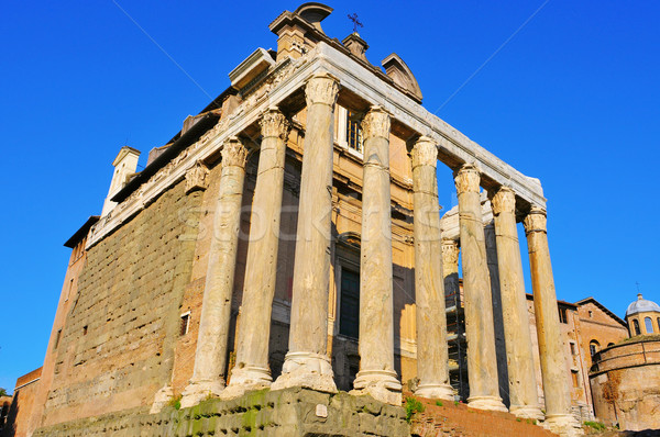 San Lorenzo in Miranda Church in Rome, Italy Stock photo © nito