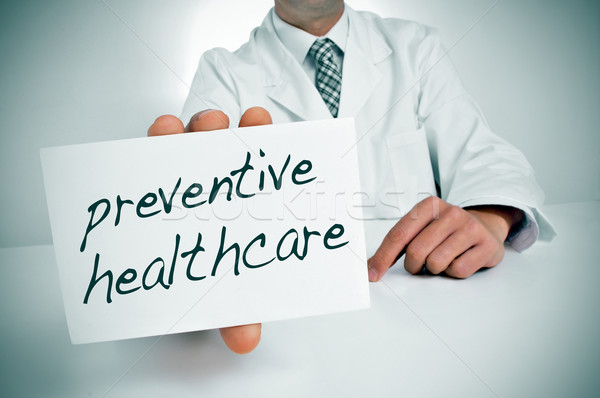preventive healthcare Stock photo © nito