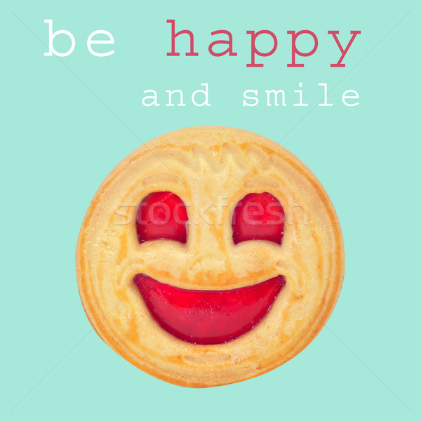be happy and smile Stock photo © nito