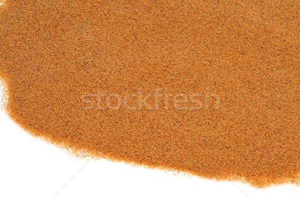 sand on a white background Stock photo © nito
