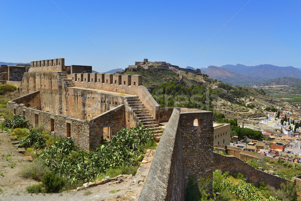 Citadel of Sagunto, Spain Stock photo © nito