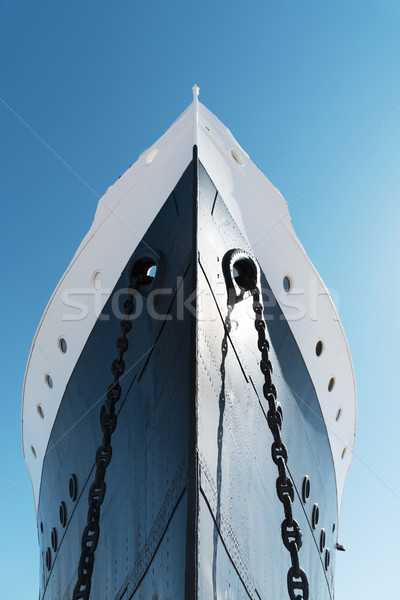 the bow of an old ship Stock photo © nito