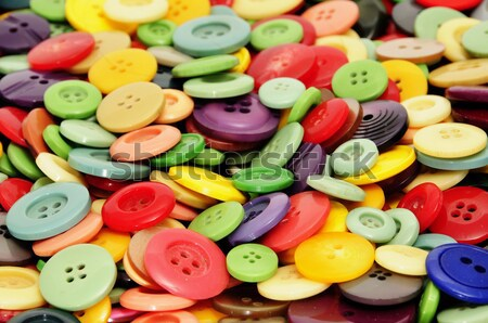 buttons, fabric and zippers Stock photo © nito