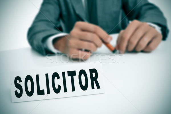 solicitor Stock photo © nito