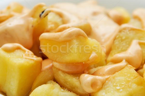 Typique espagnol épicé pommes de terre plaque Photo stock © nito