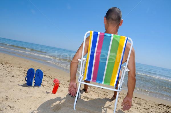 summer on the beach Stock photo © nito