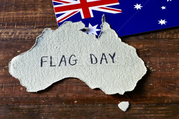 flag day of Australia Stock photo © nito