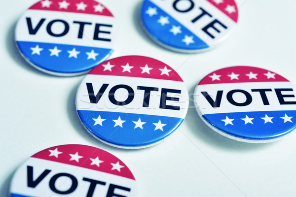 badges for the United States election Stock photo © nito